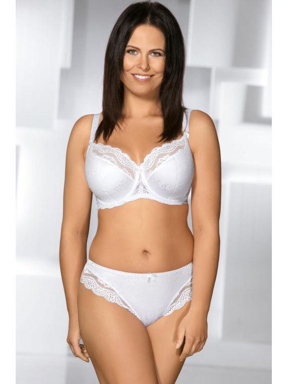 Biustonosz Semi-soft Ava 925 White