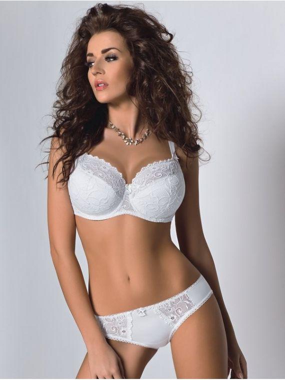 Biustonosz Semi-soft BELLAMI K131 White