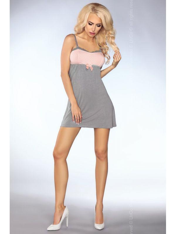 Komplet Model Mimi 104 Grey/Pink