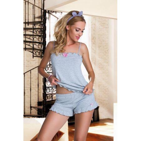 Piżama Damska Model Elian Grey