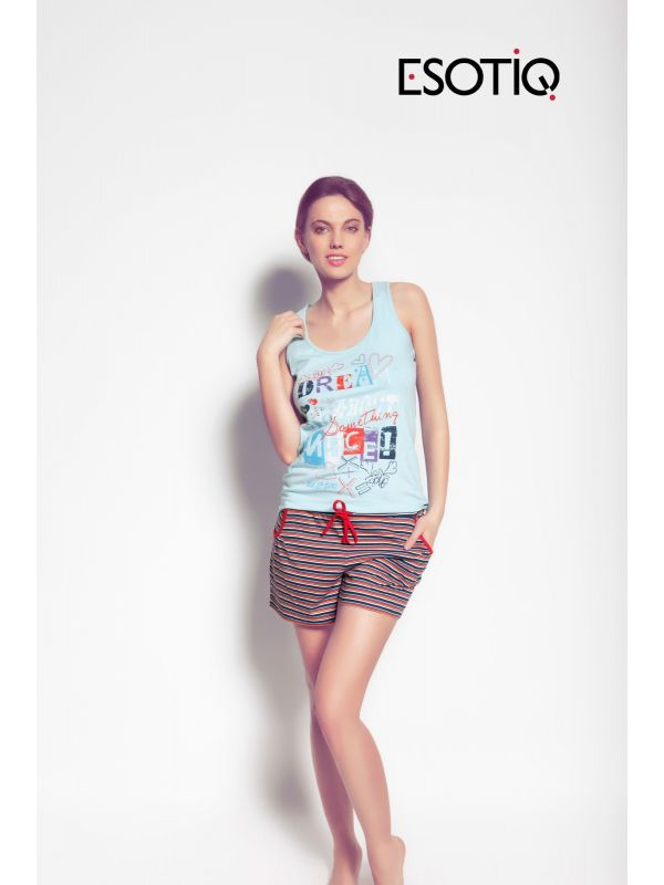 Piżama Model Marisa 31231-50X Blue
