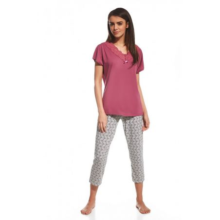 Piżama Damska Model Diane 059/121 Pink