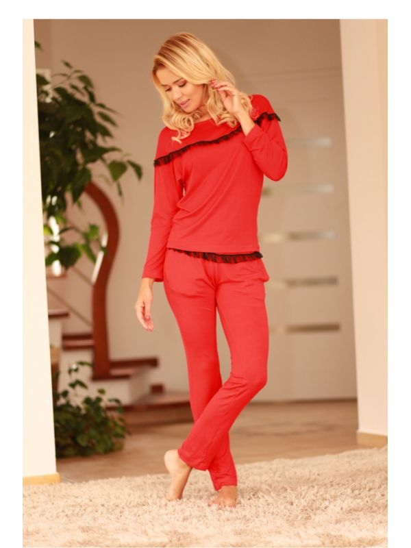 Komplet Model Calpe wiskoza Red