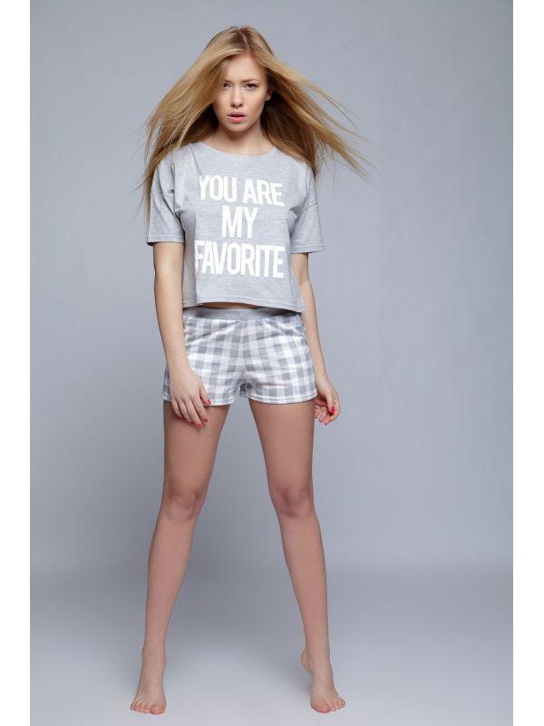 Piżama Damska Model Brooke Grey