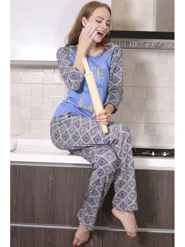 Piżama Damska Model Zoe 547 Blue