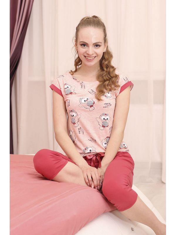 Piżama Damska Model Amanda 508 Pink