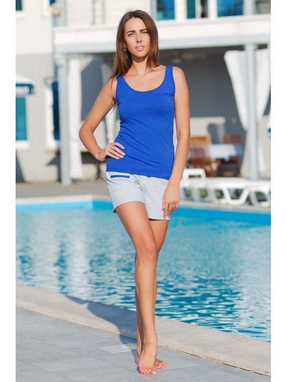 Piżama Damska Model Saint Tropez 528 Szafir