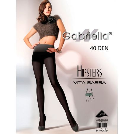 Rajstopy Hipsters code 115 40DEN (6 Colours)