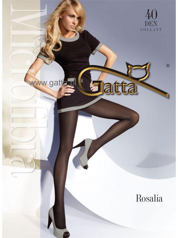 Rajstopy Gatta Rosalia 40 Vino Rosso