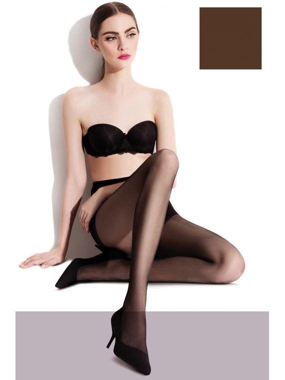 Rajstopy Klasyczne Model Lili 20 den Mocca