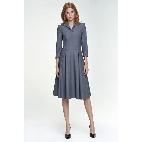 Sukienka Sue S78 szary