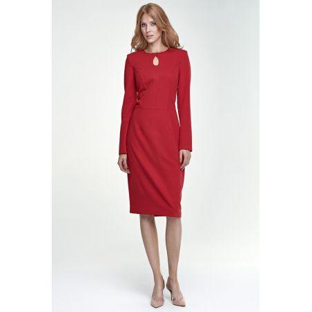 Sukienka Erin S79 czerwony