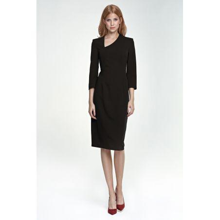 Sukienka Maddy S76 czarny
