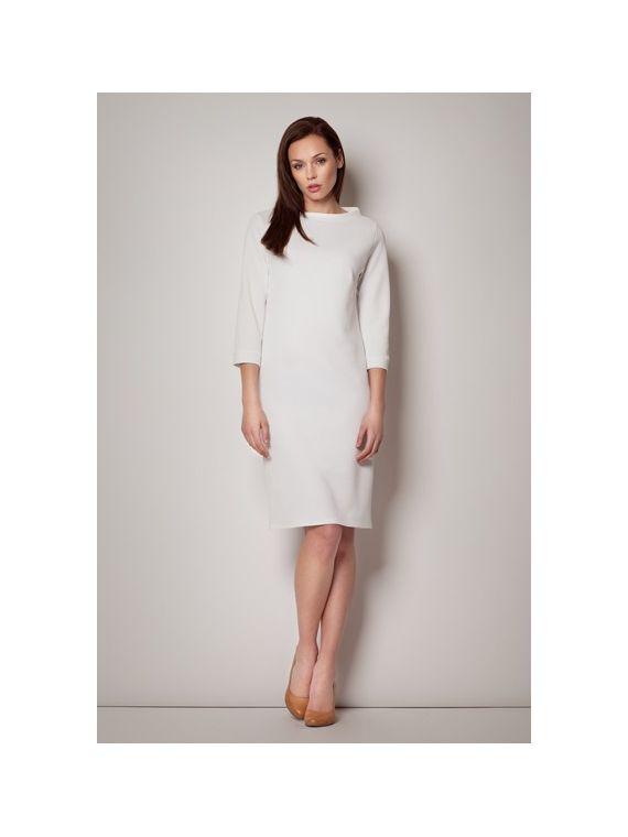 Sukienka Model 181 Ecru
