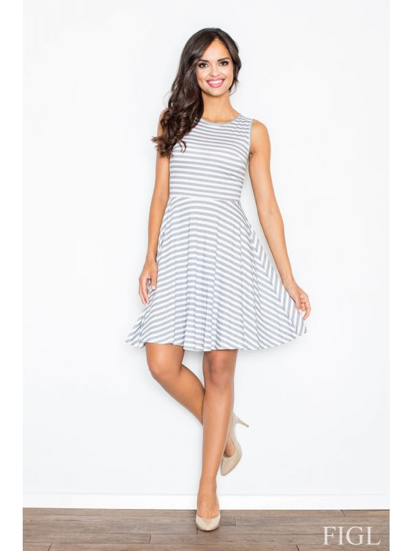 Sukienka M295 Grey