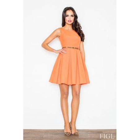 Sukienka M083 Orange