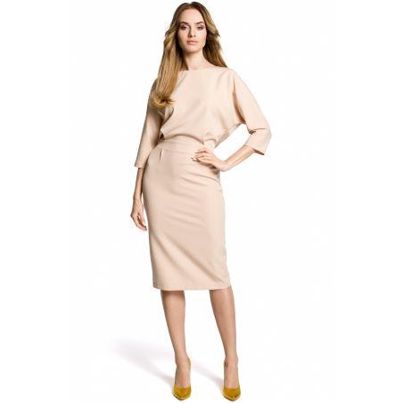 Sukienka Model MOE360 Beige