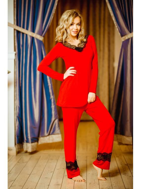 Piżama Komplet Model Kapas...