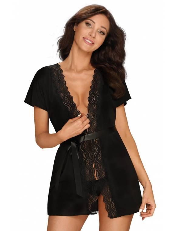 Szlafrok Model Diyosa Black...