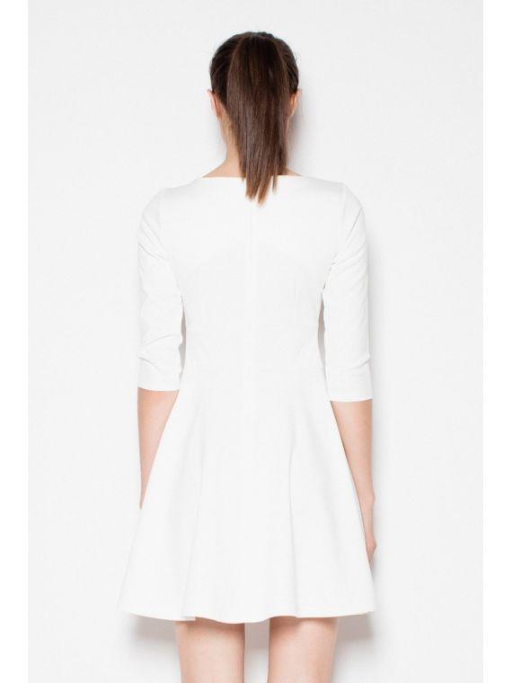 Sukienka Model Ginny S71 1230 Ecru/Beige