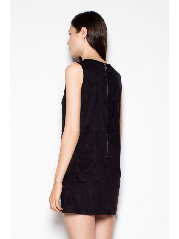 Sukienka Model 400 Black/Ecru