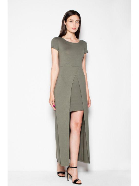 Sukienka Model 264 Oliwka