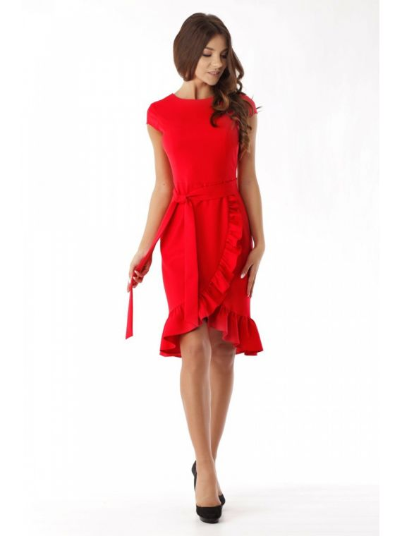Sukienka M053 Beige