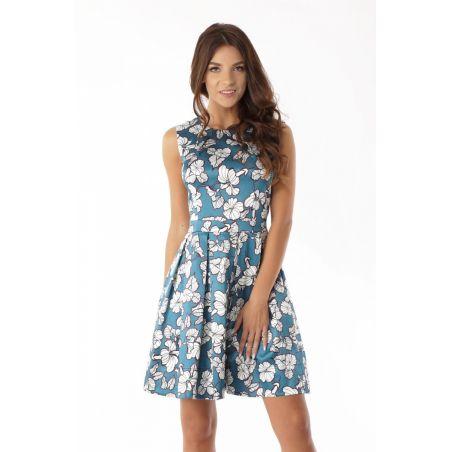 Sukienka M430 Ecru