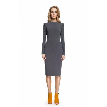 Sukienka Model S078 Grey