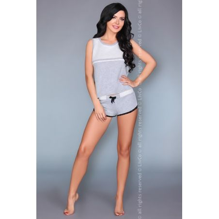 Piżama Damska Model Aliyya Black