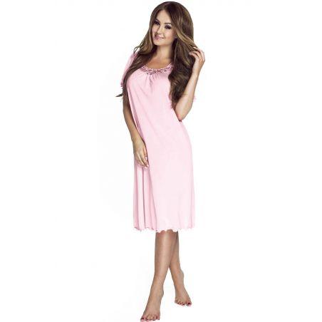 Koszula Nocna Model 4112 PinkMewa