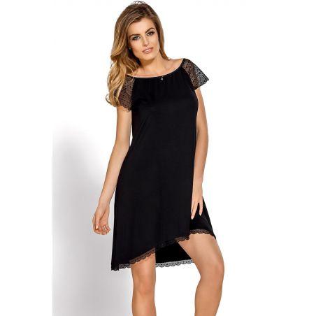Koszula Nocna Model Sabrina BlackNipplex