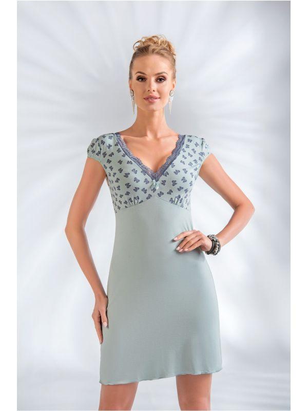 Koszula Nocna Model Tina MintDonna