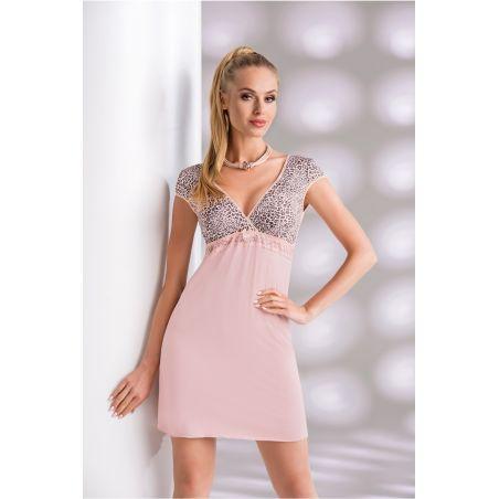 Koszula Nocna Model Marika Dirty PinkDonna