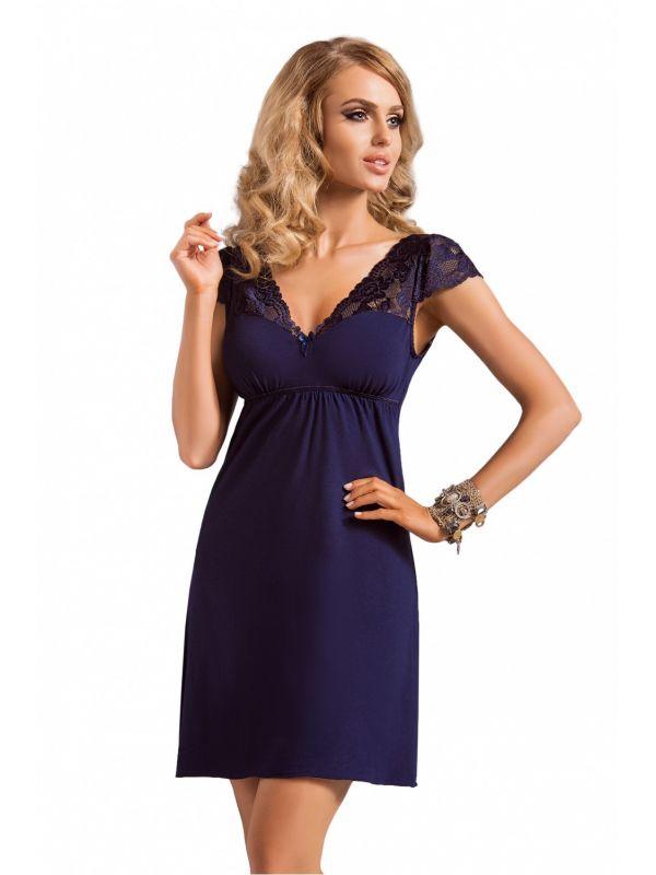 Koszula Nocna Model Diana NavyDonna