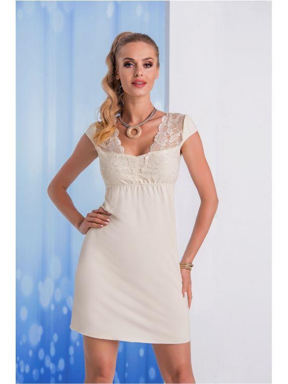 Koszula Nocna Model Taylor EcruDonna