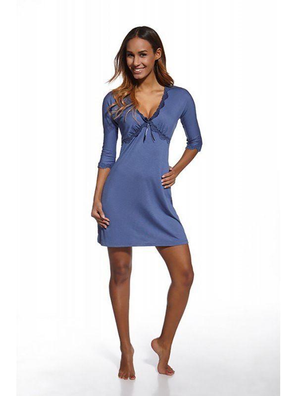 Koszula Nocna Model Lori 620/91 BlueCornette