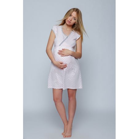 Koszula Nocna Model Vivian PinkSensis