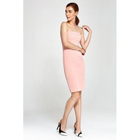 Sukienka tuba S90 Pink
