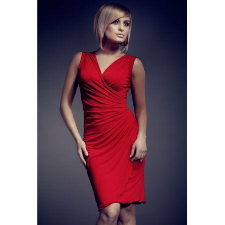 sukienka 053 czerwona