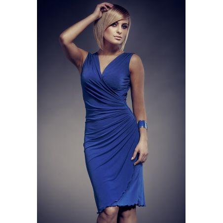 sukienka 053 niebieska