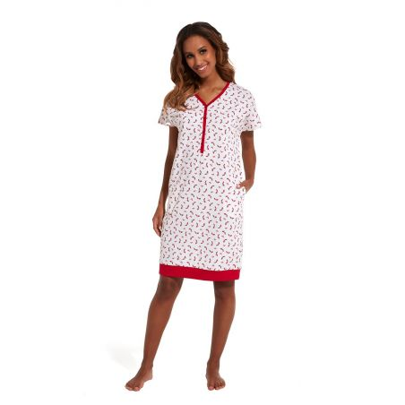 Koszula Nocna Model Red Shoes 637/149 MulticolorCornette