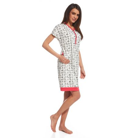 Koszula Nocna Model Lets Go 3 637/115  MulticolorCornette