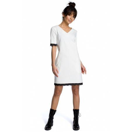 Sukienka Model B077 Ecru