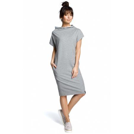 Sukienka Model B073 Grey Melange