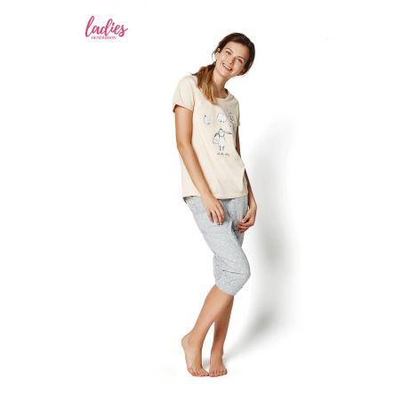 Piżama Damska Model Rakel 35255-03X Pastel Pink