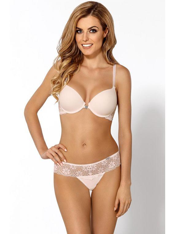Biustonosz Push-up Model Valerie F Cream