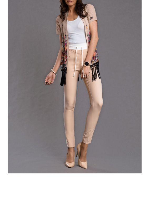 Spodnie Damskie Model 15217 Latte