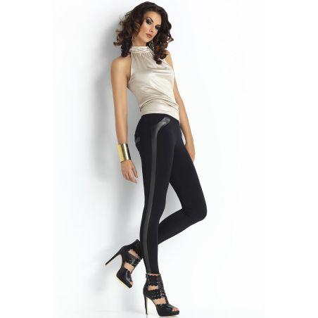 Legginsy Model Gabriela Plush Black