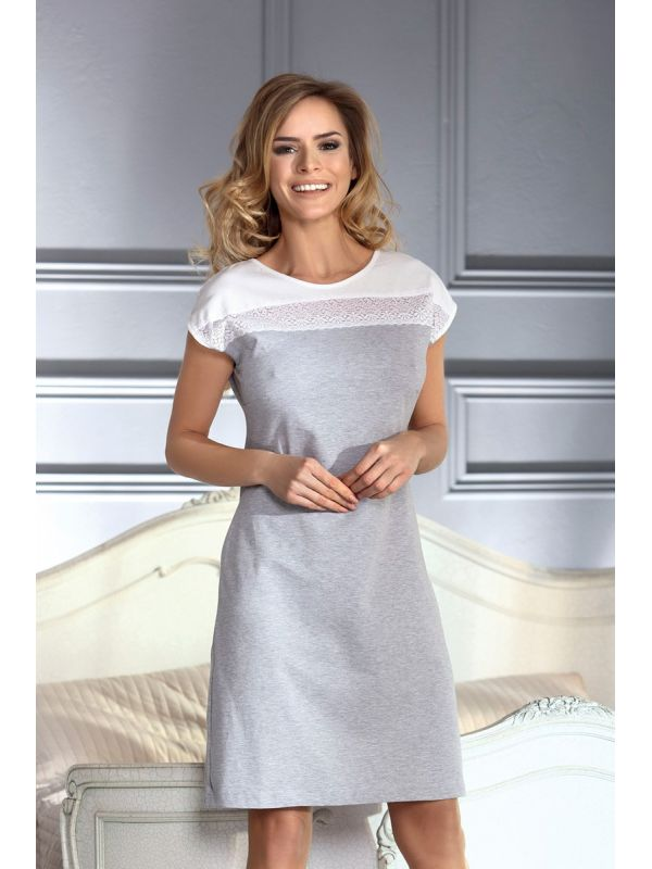 Koszula Nocna Model Perla GreyUnikat